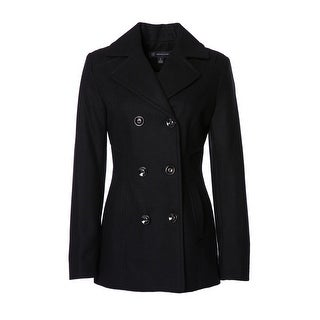 Womens Double Breasted Peacoat