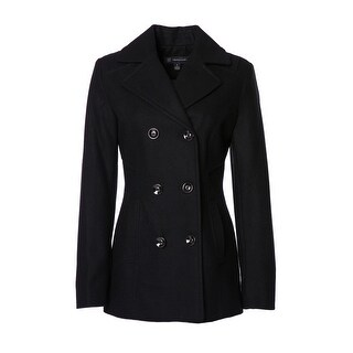 INC International Concepts Womens Double Breasted Peacoat
