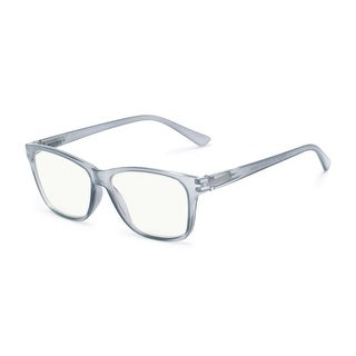 Link to Readers.com The Francis Blue Light Reader Retro Square Reading Glasses Similar Items in Eyeglasses