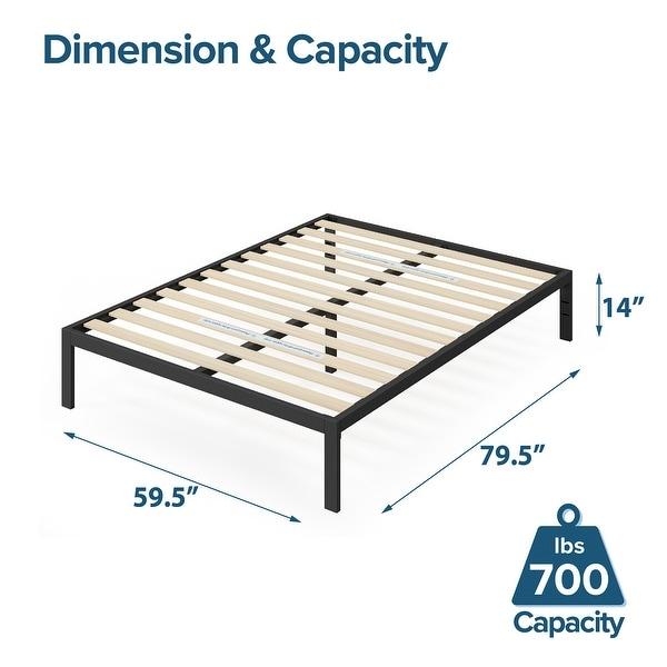Priage by ZINUS Metal Platform Bed Frame