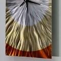 Statements2000 Amber / Copper 24-inch Metal Hanging Wall Clock - Dusk Clock - Thumbnail 4