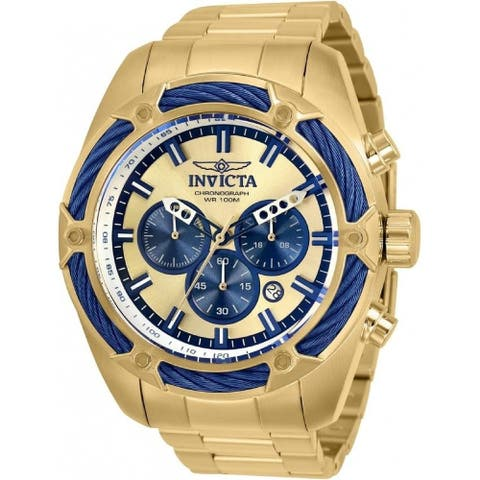 Invicta Men's 31441 'Bolt' Gold-Tone Stainless Steel Watch - Multi