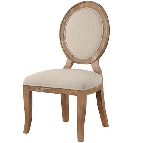 Powell Lenoir Farmhouse Side Chair (Set of 2)