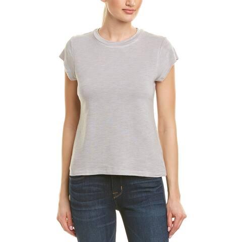 Monrow Cap-Sleeve Sweatshirt
