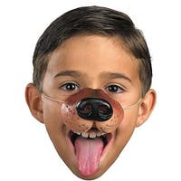 Dog Nose Child Costume Accessory - Brown