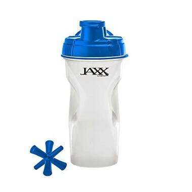 Fit & Fresh Jaxx Shaker Bottle, 28-Ounce, Blue