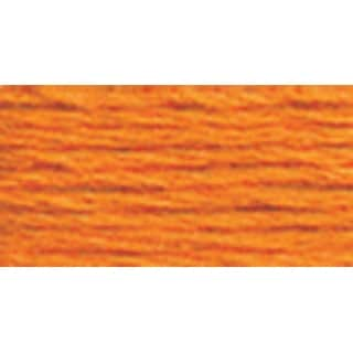 DMC Pearl Cotton Ball Size 8 87yd-Tangerine