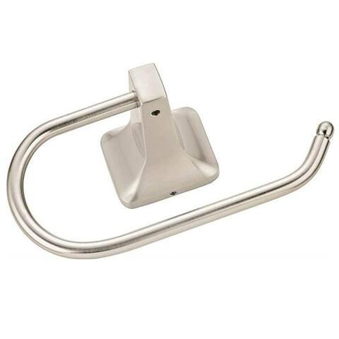 Mintcraft 3655C-07-07-SOU Manhattan C-Towel Ring Holder, Brushed Nickel