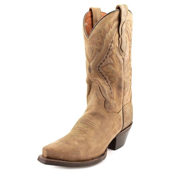 Dan Post DP2421 Pointed Toe Leather Western Boot