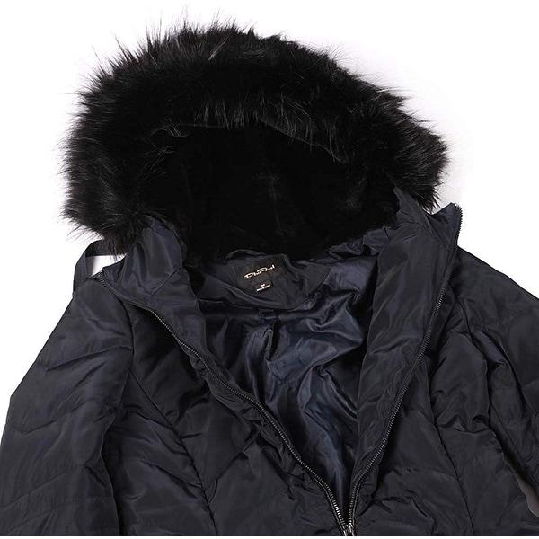 Plusffel Womens Winter Warm Mid Length Outwear Hiking Cycling Sportswear Ligh... - XX-Large (US Large). Opens flyout.