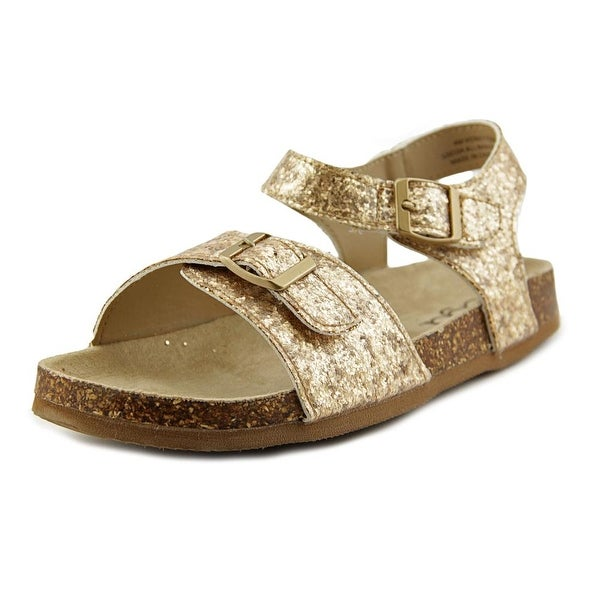 Sugar Honey Youth Open-Toe Synthetic Gold Slingback Sandal