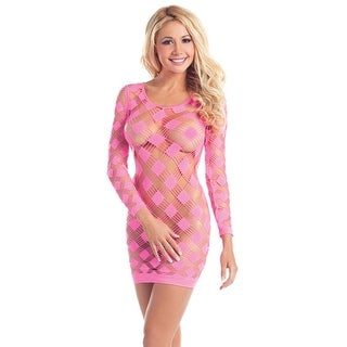 Neon Cutout Dress - One Size Fits most