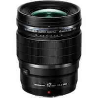 Olympus M.Zuiko Digital ED 17mm f/1.2 PRO Lens - Black