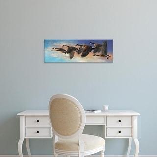 Easy Art Prints Carolyn Mock's 'Ascent' Premium Canvas Art