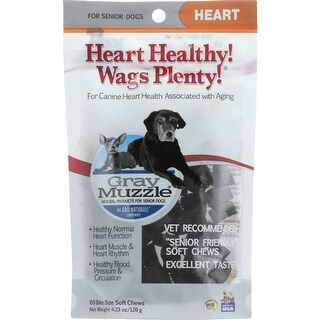 Ark Naturals Heart Healthy Wags Plenty - Gray Muzzle - 60 count - 1 each