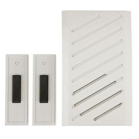 Carlon RC3252 Plug In Musical Door Chime Kit, White