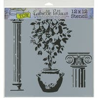 "Crafter's Workshop Template 12""X12""-Lemontree"