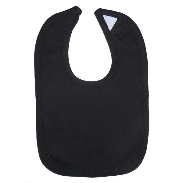Black Interlock Bib - Size - One Size - Unisex
