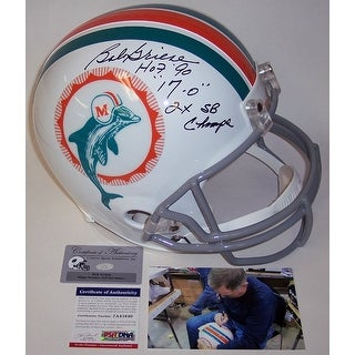 Bob Griese Autographed Hand Signed Miami Dolphins Throwback Full Size Helmet PSADNA