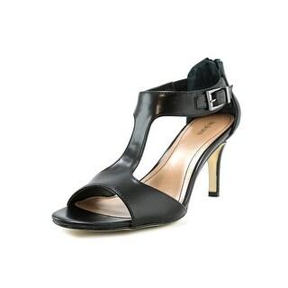Style & Co Sachii Women Open-Toe Synthetic Black Heels