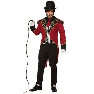 Forum Novelties Dashing Ringmaster Adult Costume - Red/black - Standard