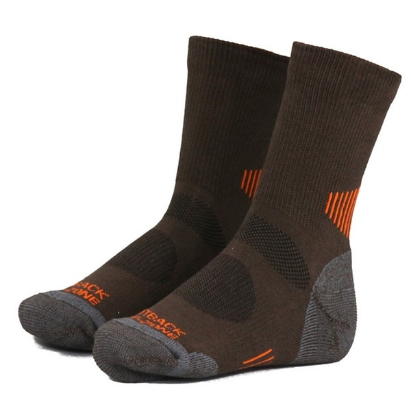 Outback Trading Socks Womens Travel Double Ribbed One Size - One size