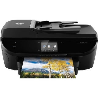 HP Envy 7640-7645 Wireless All-in-One Photo Printer w Mobile Printing, Instant Ink ready E4W43A (BROWN BOX)