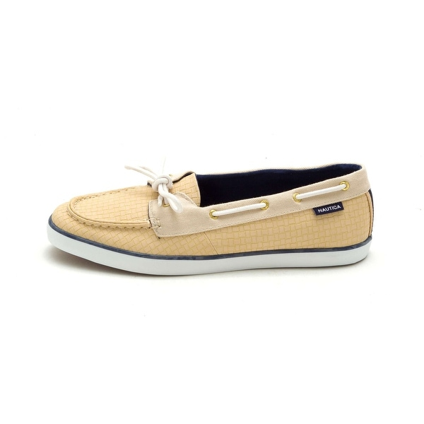 Nautica Womens Pinecrest Fabric Closed Toe Boat Shoes