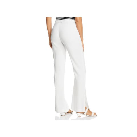 Kobi Halperin Womens Vana Pants High Rise Wide Leg