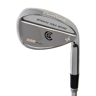 New Cleveland 588 DSG Chrome Wedge 54* FST Uniflex Steel RH
