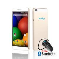 """Indigi® Factory Unlocked 3G 6"""" DualSim SmartPhone Android 5.1 Lollipop w/ WiFi + Google Play + Bluetooth Included - GOLD"""