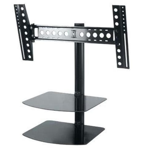 AVF Group ESL822B-T Tilt & Turn TV Mount with shelving
