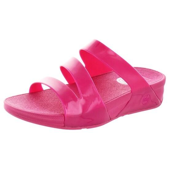 FitFlop Women's Superjelly Twist Slide Sandals