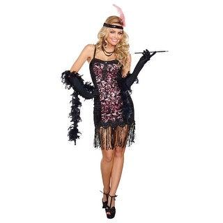 Womens Cotton Club Cutie Costume