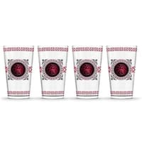 Game of Thrones  Targaryen House Colors Pint Glass - Pack of 4