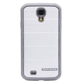 Body Glove Carbon Fiber Rise Case for Samsung Galaxy S4 - Smoke / White