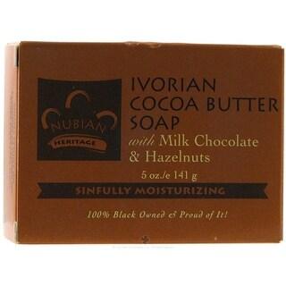 Nubian Heritage Bar Soap Ivorian Cocoa 5-ounce