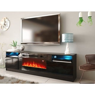 Link to Strick & Bolton Amsden Electric Fireplace TV Stand Similar Items in Entertainment Units