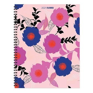 Link to 2021 Modern Blooms Large Weekly Monthly Planner - 8.5x11 Similar Items in Calendars & Journals