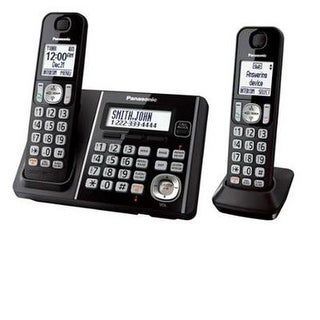 Panasonic Consumer - Kx-Tg3752b - Two Handset Telephone