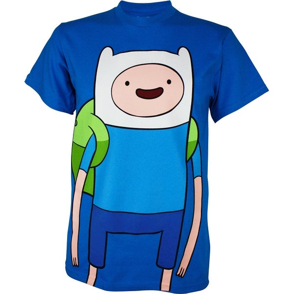 Shop Adventure Time Large Finn Men S T Shirt Free Shipping On