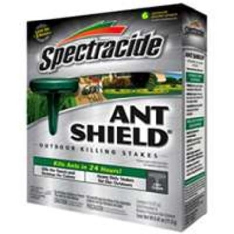 "Spectrum HG-95597 ""Spectracide"" Ant Shield Outdoor Stakes - Box/6"