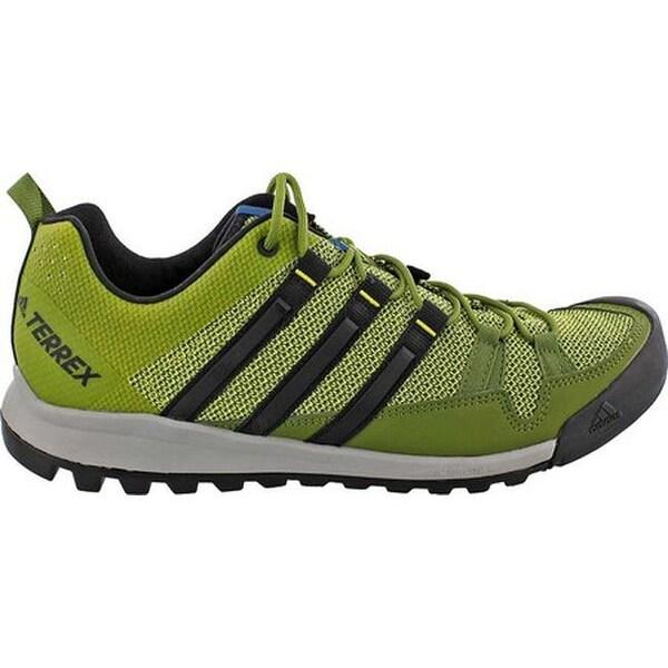 70931f811d1eb Shop adidas Men s Terrex Solo Approach Shoe Unity Lime Black Core ...