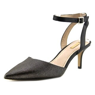 Louise et Cie Esperance Women Pointed Toe Leather Slingback Heel