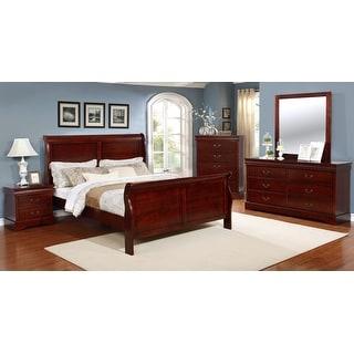 Link to Emmet Louis Phillippe Bedroom Set (4pc/ 5pc) Similar Items in Bedroom Furniture
