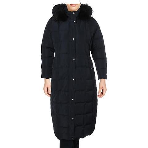 Tommy Hilfiger Womens Plus Parka Coat Winter Down