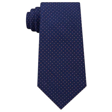 Michael Kors Mens Pindot Self-Tied Necktie - One Size