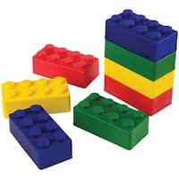 US Toy 4485X6 Block Mania Stress Toys - 12 Per Pack - Pack of 6