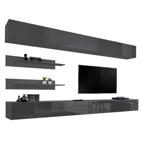 Fly I 30TV Wall Mounted Floating Modern Entertainment Center