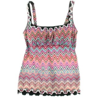 Profile by Gottex Womens Tankini Printed Swim Top Separates